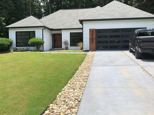 New home addition in Atlanta
